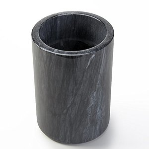 AMERICAN METALCRAFT  Wine and champagne cooler black marble
