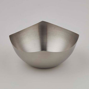 AMERICAN METALCRAFT  Squound snack bowl  40 cl
