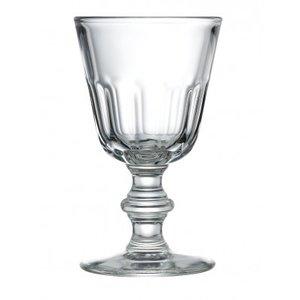 LA ROCHERE  Water/ wijnglas op voet 22 cl  Perigord