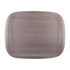 ROLTEX  Tray 46 x 36 cm grey wood