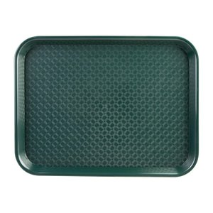 OLYMPIA DIENBLADEN  Dienblad fast food  groen  34,5 x 26,5 cm