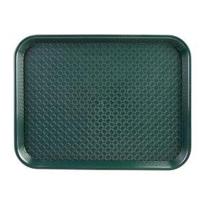 OLYMPIA DIENBLADEN  Tray fast food  green  34,5 x 26,5 cm