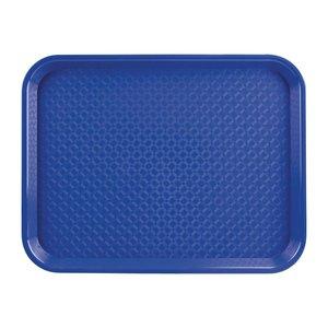 OLYMPIA DIENBLADEN  Tray fast food  blue  34,5 x 26,5 cm