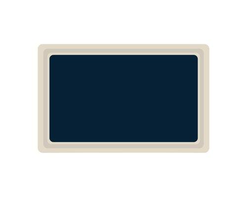 ROLTEX  Dienblad GN 1/1 blauw