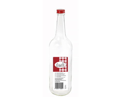 WECK  Bottle 0,7 liter with red screw  top