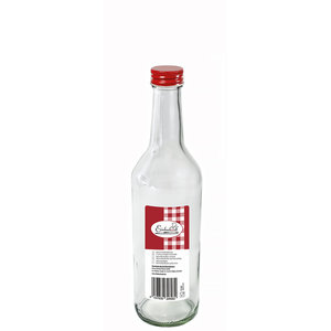 WECK  Bottle 0,5 liter with red screw  top