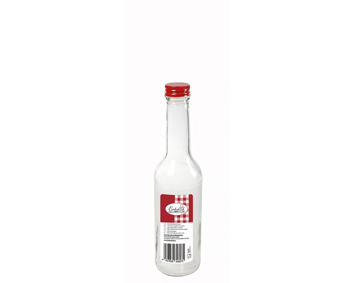 WECK  Bottle 0,35 liter with red screw  top