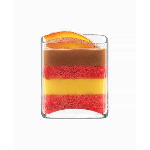 LUIGI BORMIOLI  Appetizer glass square 13 cl