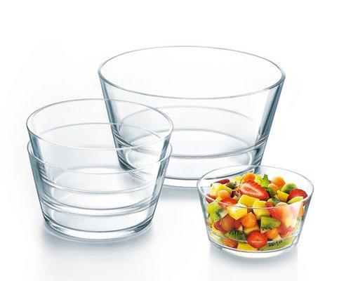 BUFFET SCHALEN GLAS