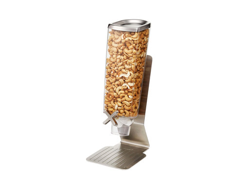 ROSSETO Cereal dispenser  3,8 liter on stainless steel base
