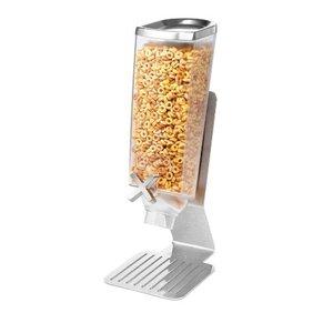 ROSSETO Ontbijtgranen dispenser  3,8 liter op roestvrijstalen standaard