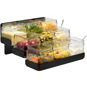 ROSSETO Buffet set 12 pcs condiments station