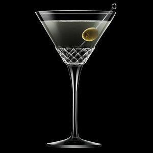 LUIGI BORMIOLI  Martini glas 22 cl Roma 1960