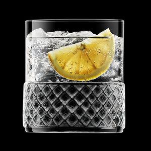 LUIGI BORMIOLI  Whisky / water glas 38 cl  Roma 1960