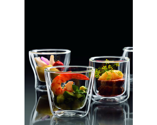 LUIGI BORMIOLI  Appetizer glass double walled 22 cl