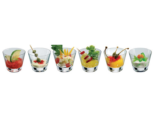 RONA  Amuse glaasje 13 cl  set van 6 stuks
