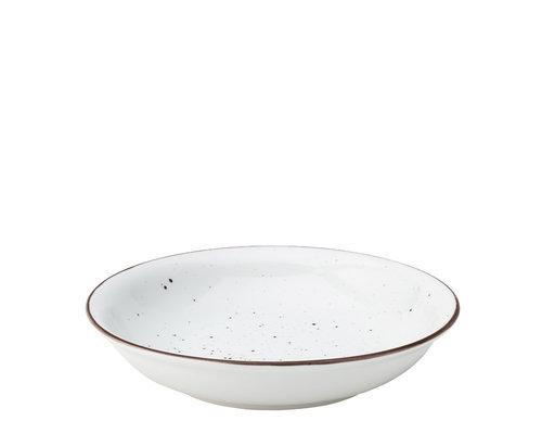UTOPIA  Bowl / risotto plate 20 cm Rustik Dots