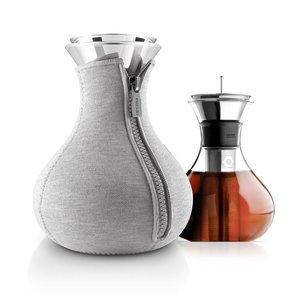 EVA SOLO  Tea maker 1 liter met grijs warmhoud jasje