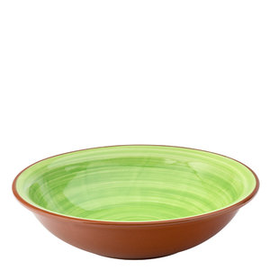 UTOPIA  Bowl / pasta bord 20,5 cm Salsa groen