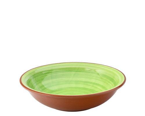 UTOPIA  Bowl / pasta plate 20,5 cm Salsa green