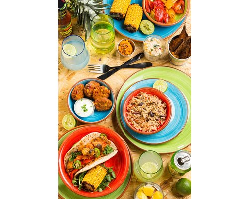 UTOPIA  Bowl / pasta plate 20,5 cm Salsa red