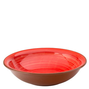 UTOPIA  Bowl / pasta plate 20,5 cm Salsa red
