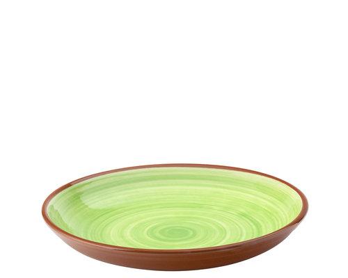 UTOPIA  Bowl / pasta bord 24 cm Salsa groen