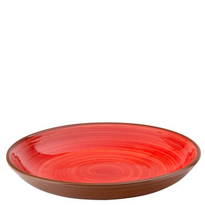 UTOPIA  Bowl / pasta plate 24 cm Salsa red