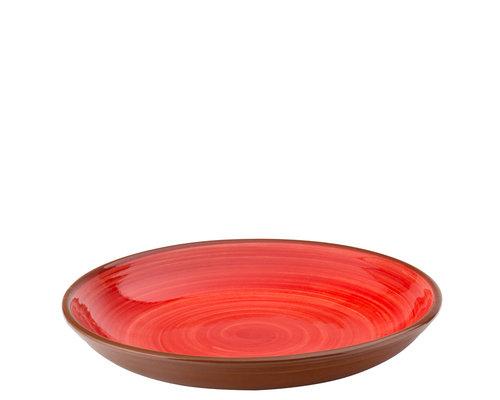 UTOPIA  Bowl / pasta plate 24 cm Salsa red