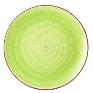 UTOPIA  Flat plate 28 cm Salsa green