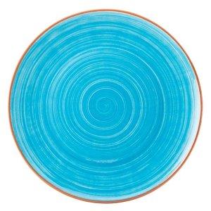 UTOPIA  Flat plate 28 cm Salsa Sky Blue