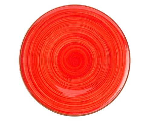 UTOPIA  Flat tapas plate 20 cm Salsa red