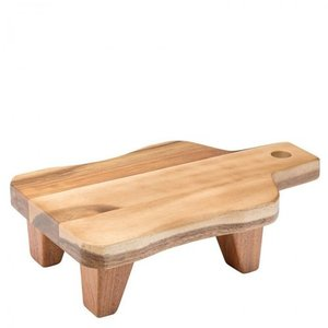 M & T  Buffet stand wood 29,5 x 18 cm