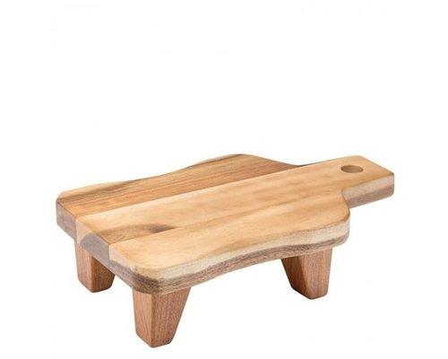 M & T  Buffet stand wood 29,5 x 18 cm