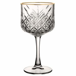 PASABAHCE Verre à  cocktail 55 cl avec bord doré Timeless Vintage