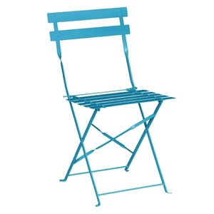 M & T  Chair foldable seaside blue