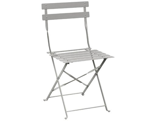 M & T  Chair foldable grey