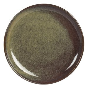 TABLE PASSION  Flat plate 27,5 cm Cilaos green
