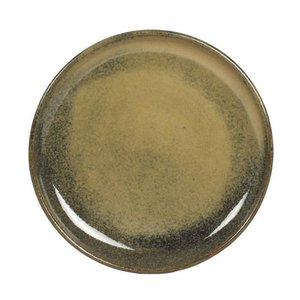 TABLE PASSION  Flat plate 22 cm Cilaos green
