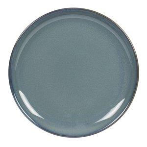 TABLE PASSION  Flat plate 27,5 cm Cilaos blue