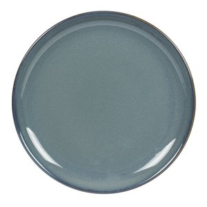 TABLE PASSION  Plat bord 27,5 cm Cilaos blauw