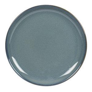TABLE PASSION  Flat plate 22 cm Cilaos blue