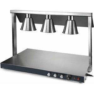 LACOR Warmhoudbrug met 3 infrarood lampen