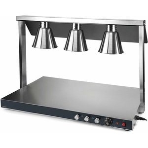LACOR Warming plate with 3 infra-red lamps