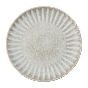 OLYMPIA Porselein  Flat plate 20,5 cm Concrete Grey