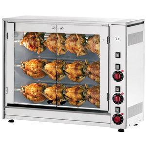 NEUMARKER  Chicken grill 3 x 4 chickens
