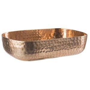 M & T  Basket aluminium  copper color