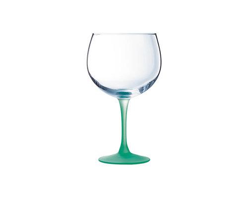 LUMINARC  Cocktail - & Gin glas 70 cl met groene voet