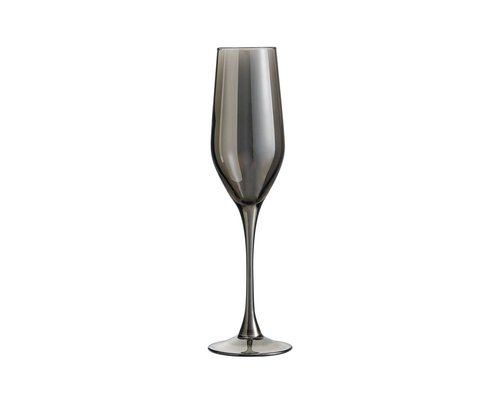 LUMINARC  Champagne flute 16 cl Shiny Graphit
