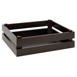 APS Superbox GN 1/2 zwart hout